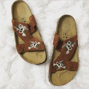 Birkenstock NWT new betula leather slide sandals